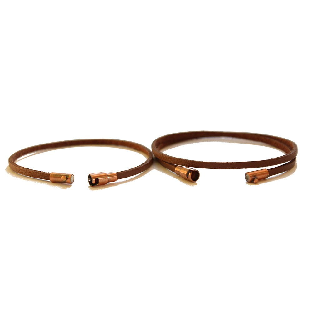 leather couple bracelets chains by laurenchains by lauren