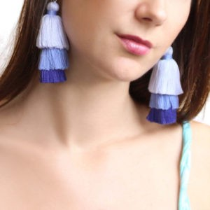 Tierred Tassel Earrings